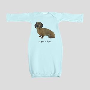 FIN-dachshund-smooth-good Baby Gown