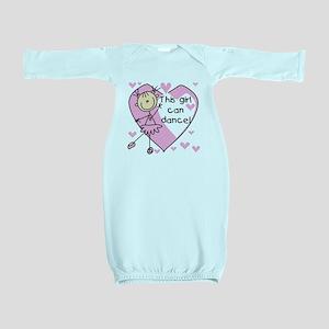thisgirlcandancetee Baby Gown