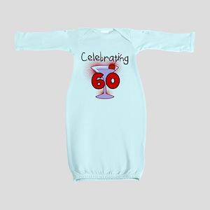CELEBRATINGBDAY60 Baby Gown