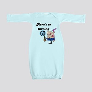 CHEERSTO60 Baby Gown