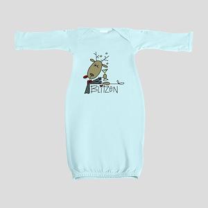 reindeerblitzen Baby Gown