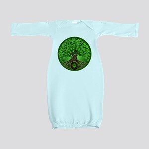 Circle Celtic Tree of Life Baby Gown