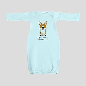 Pembroke Welsh Corgi Baby Gown