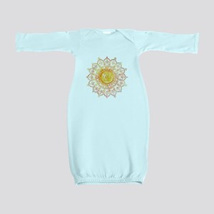 Decorative Sun Baby Gown