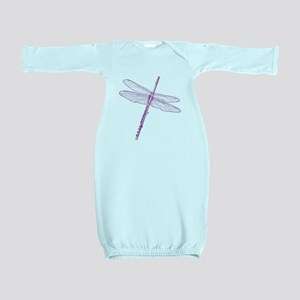 Dragonfly Flute Baby Gown