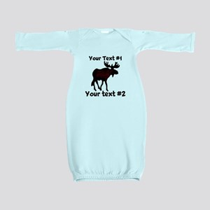 custommoose Baby Gown