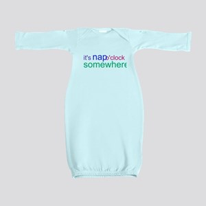 It's Nap O'clock Somewhere Baby Gown