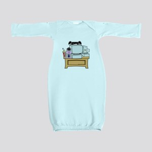 Abby and Bert NCIS Baby Gown