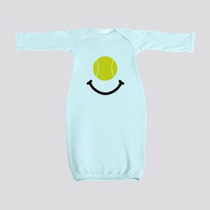 Tennis Smile Black Baby Gown