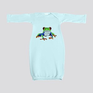 Frog Baby Gown