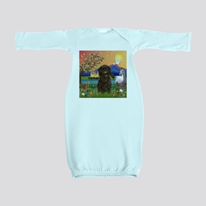 Affenpinscher in Fantasyland Baby Gown