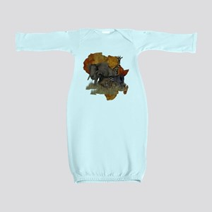 Safari Baby Gown