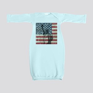 Vintage Statue Of Liberty Baby Gown