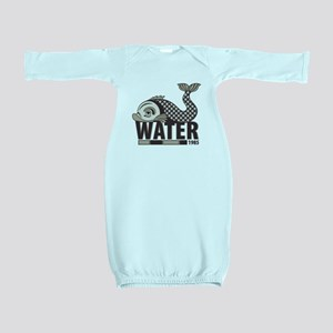Fish Water Baby Gown