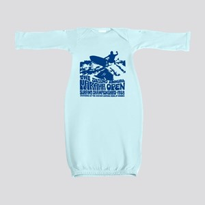 Makaha Surfing 1968 Baby Gown
