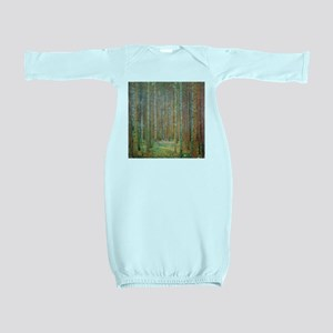 Gustav Klimt Pine Forest Baby Gown