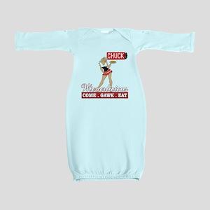 Wienerlicious Chuck TV Baby Gown