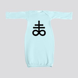 Hermetic Alchemical Cross Baby Gown