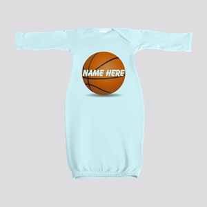Personalized Basketball Ball Baby Gown