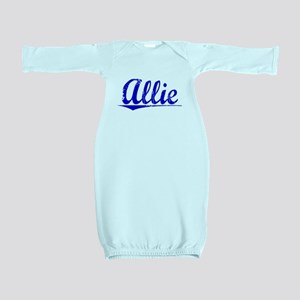 Allie, Blue, Aged Baby Gown