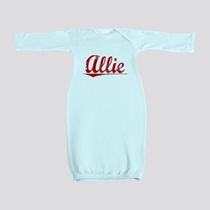 Allie, Vintage Red Baby Gown