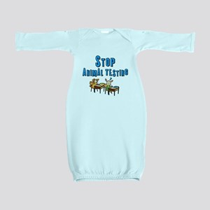 Stop Animal Testing Baby Gown