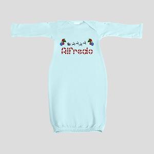 Alfredo, Christmas Baby Gown