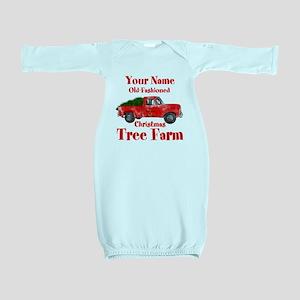 Custom Tree Farm Baby Gown