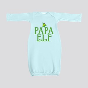 Papa Elf Baby Gown