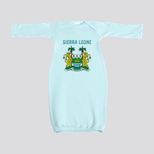 Sierra Leone Coat of arms Baby Gown