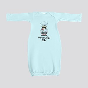 Personalized French Chef Baby Gown