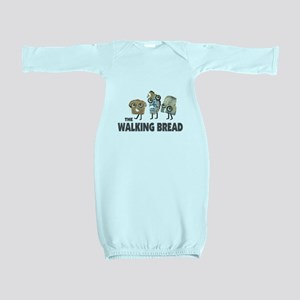 the walking bread Baby Gown