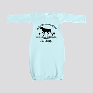 German Shorthared dog breed designs Baby Gown