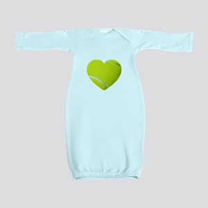 Tennis Heart Baby Gown