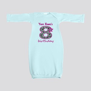 8th Birthday - Personalized Baby Gown