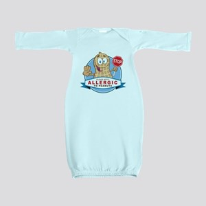 Allergic to Peanuts Baby Gown