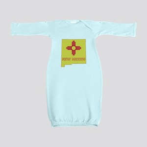 New Mexico Flag Baby Gown