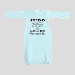 Judo Martial Arts Designs Baby Gown