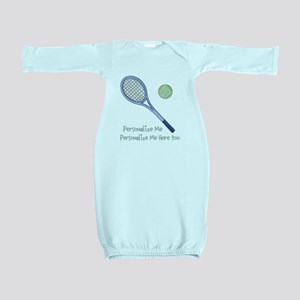 Personalized Tennis Baby Gown