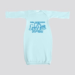 Personalized Mad Scientist Baby Gown