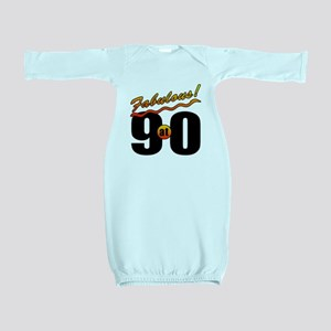 Fabulous At 90 Baby Gown