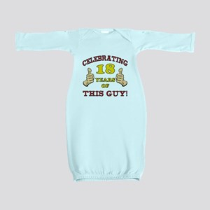 Funny 18th Birthday For Boys Baby Gown