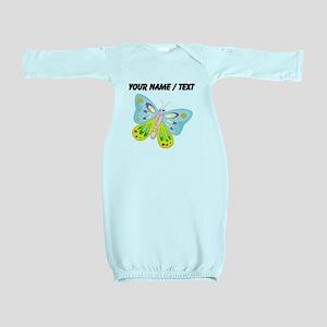 Custom Cartoon Butterfly Baby Gown