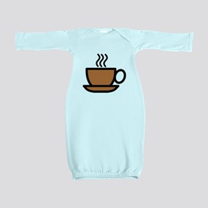 Hot Cup of Coffee Baby Gown