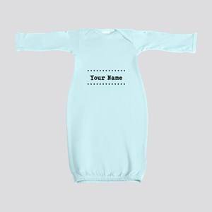 Custom Name Baby Gown