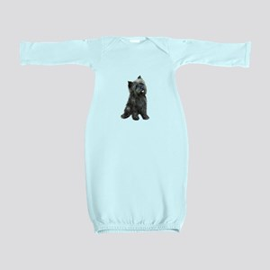 Brindle Cairn (#14) Baby Gown