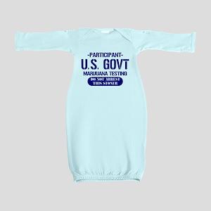 Marijuana Testing Baby Gown