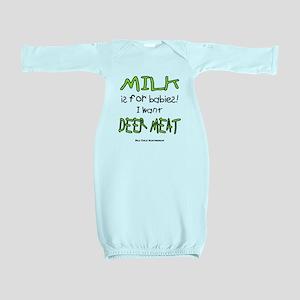 Milk Baby Gown