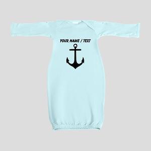 Custom Anchor Baby Gown