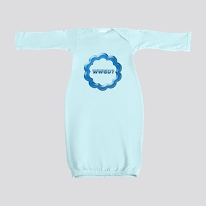 WWGD blue Baby Gown